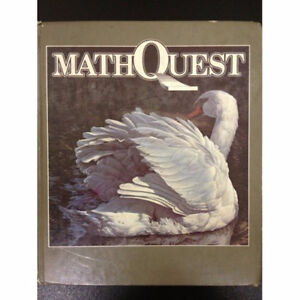Mathquest 6 hardcover textbook London Ontario image 1
