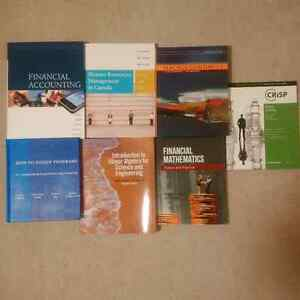 Business / Math / Computer Science Textbooks For Sale Kitchener / Waterloo Kitchener Area image 1