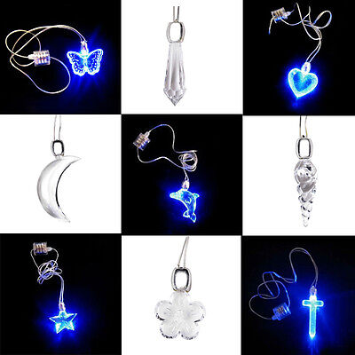 Licht-halskette (LED Licht Halskette Anhänger Leuchtkette leuchtend Magnetic Kette Party Schmuck)