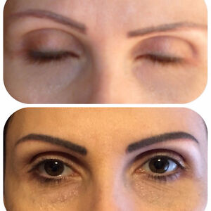 EYEBROWS TATTOO FEATHER TOUCH - Natural looking Eyebrows