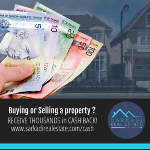 BUY your next HOME with me and Receive CASH-BACK! Home for SALE