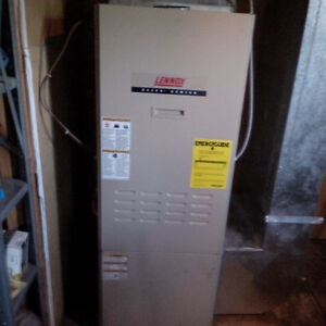 Oil Furnace and Oil fired Hot Water Tank - excellent condition