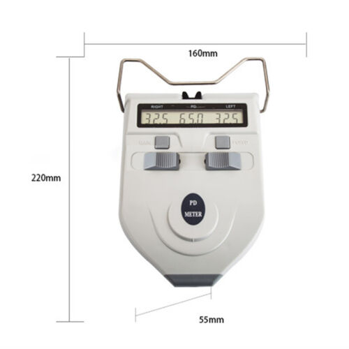 Automatic Shut-off Optical Digital PD Meter Pupilometer Distance Tester For Lab