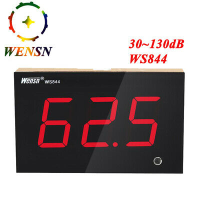 Wensn Digital Sound Level Meter 30130db Decibel Meter Noise Measure Test Meter