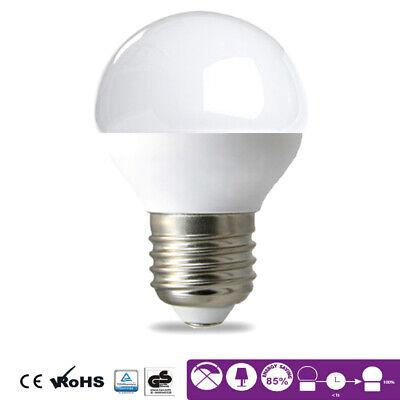 LED Leuchtmittel E27 5 Watt | Kugel G45 400 Lumen | Glühbirne | Leuchte | Lampe 45 Lumen-led