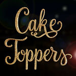 GlitterCakeToppers