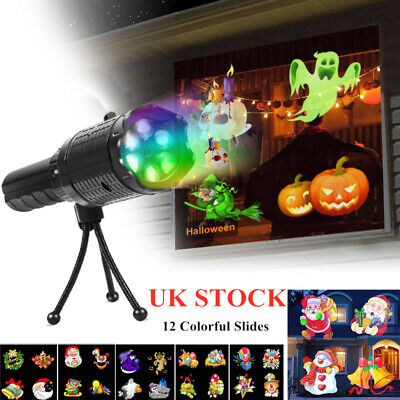 Indoor&Outdoor LED Halloween Christmas Projection Lights Festival Party Laser
