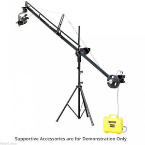 12' Jib with motorized head and stand