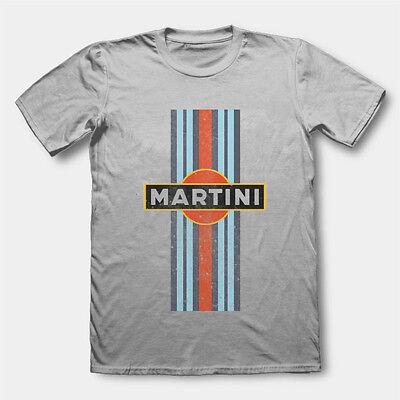 RETRO MARTINI RACING T SHIRT VINTAGE CAR - Martini Racing Shirt