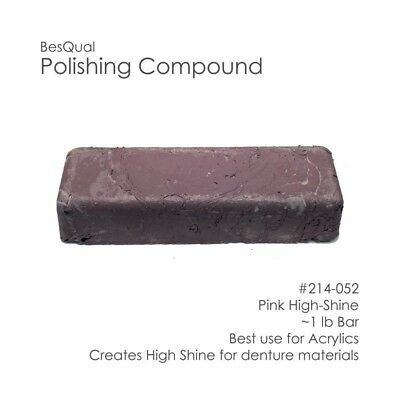 Polishing Compound Pink / High-Shine Best Use for