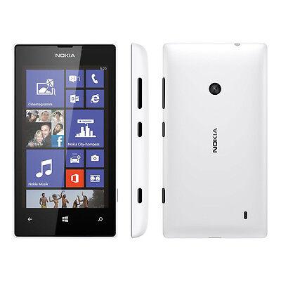 Nokia Lumia 520 - 8GB - White (Metro PCS) Smartphone
