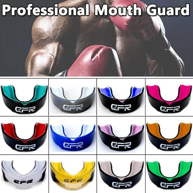 US Mouth Guard Gum Shield Bruxism Dental Teeth Protection Gr