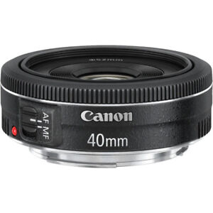 Objectif CANON 40mm STM