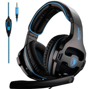 Noise Isolation Over The Ear Wired Gaming Headphone