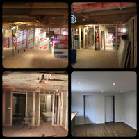 Basement Development/ Secondary Legal Suite/ Renovations