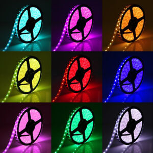 16ft Colour Changeable, Waterproof LED Strip Lights