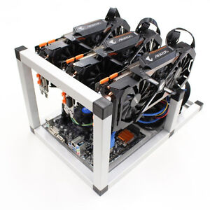 CryptoCurrency Mining Rig for Zcash and Ethereum