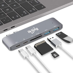 USB C Hub Multiport Charging Adapter pour mac