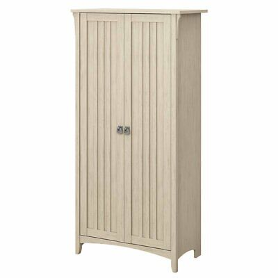 Bush Furniture Salinas Tall Storage Cabinet with Doors in An