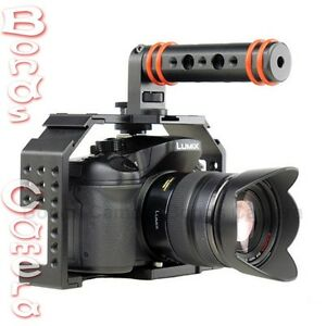 FHUGEN-HONU-V2-0-VIDEO-CAGE-Kit-with-Top-Handle-HDMI-Clamp-for-GH3-GH4-A7-A7R