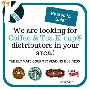 Start Your K-cup® Coffee Vending Business Today!