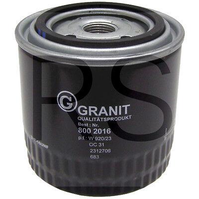 8002016 Granit Ölfilter passend bei  W920/23, Case, IHC 1133277R1