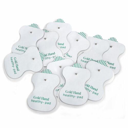 50pcs Ersatz Elektroden Pads für Tens Einheit Akupunktur Therapie Massagegerät