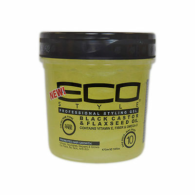 Eco Styler Professional Styling Gel w/ Black Castor Oil & Flaxseed Oil
