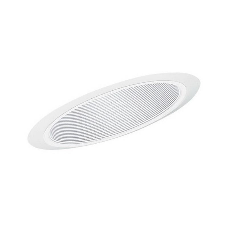 Juno Lighting 604W-WH 6 Inch Super Slope White Baffle Trim