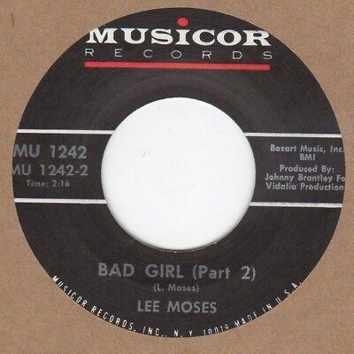 Lee Moses Bad Girl PT2 Musicor 2nd Soul Northern Motown