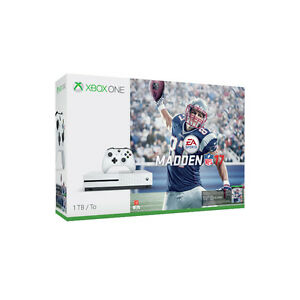 xbox one s 1tb madden17 edition with 2 controllers with kinnect