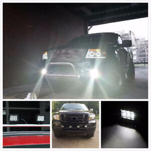 LED Work Light Bars, Fog Lights, SUV 4WD, COMBO SPOT FLOOD BEAM