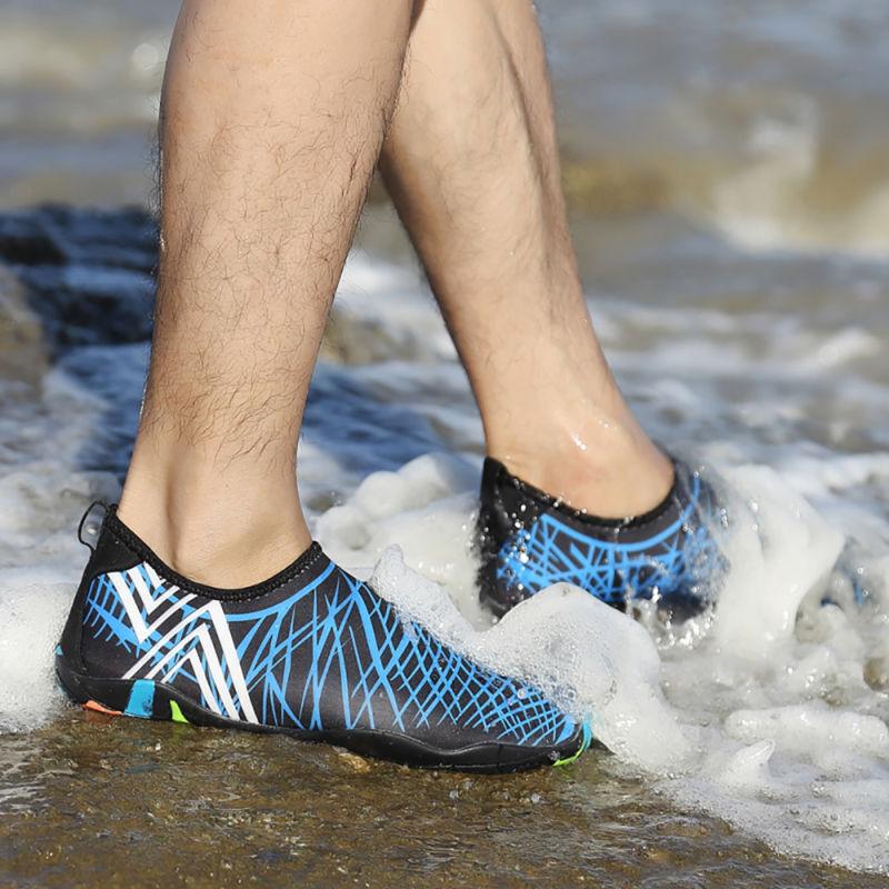 Herren Damen Wasserschuhe Neoprenschuhe Aquaschuhe Schwimmschuhe Surfschuhe Neu