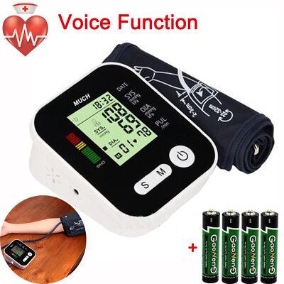 Automatic Digital Upper Arm Blood Pressure Monitor Bp Cuff Machine All Wvoice