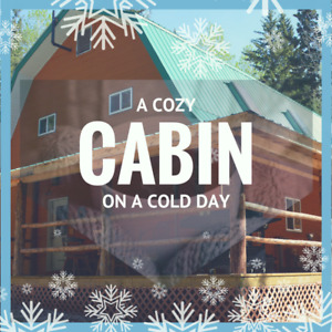 Winter is Wonderful at the Cabin!
