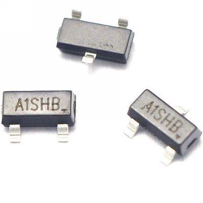 100pcs Si2301 A1shb 2.3a20v Sot23 Mos P-channel Mosfet Smd Transistor