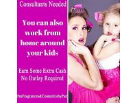 Perfume & Cosmetic Consultants Required Work from Home Full/Part Time