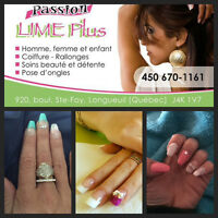 Pose d'ongles *Longueuil* 40$   .... 450-670-1161