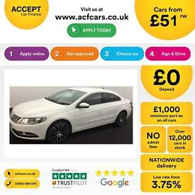 Volkswagen CC 2.0TDI ( 140ps ) BMT 2013MY GT FROM £51 PER WEEK!