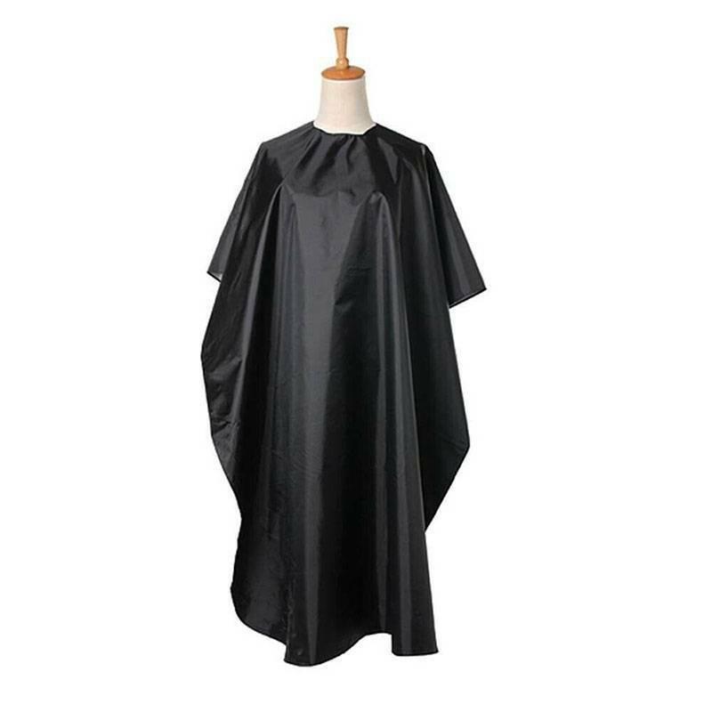 Black Barber Shop Salon Cape Gown