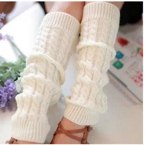 femme fille chaussettes jambi res gu tre leggings chaud tricot hiver cadeau no l ebay. Black Bedroom Furniture Sets. Home Design Ideas