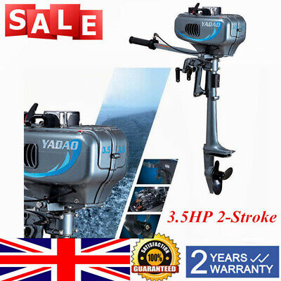 3.5HP 2-Stroke Outboard Motor Fishing Boat Engine Sail Boats Engine Short shaft
