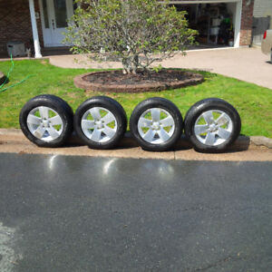 Alloy Rims and Michelin Defender Tires
