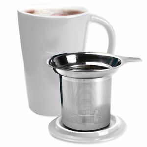 NEW: Primula® 14 oz.Tea Brewing Ceramic Mug with Infuser