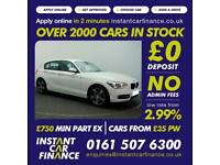 BMW 118 1.6 ( 170bhp ) ( s/s ) Sports Hatch Auto 2014MY i Sport FROM £66 PW