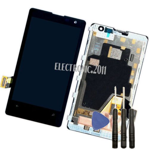 For Nokia Lumia 1020 Lcd Display Touch Screen Digitizer Replacement +Frame+tools