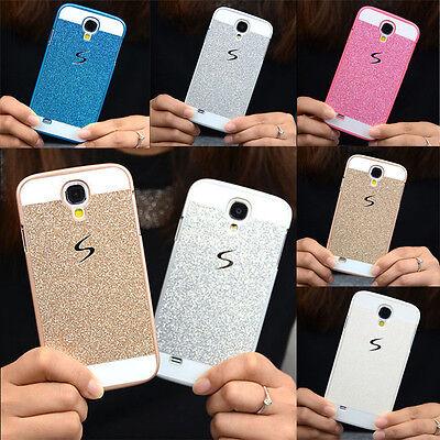 (Sparkle Bling Glitter Skin Hard Plastic Cases Back Cover Case For Samsung Galaxy)