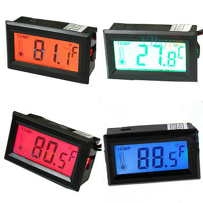 Led Display Digital Thermometer Probe -50c-70c Temperature Meter Detector 5v
