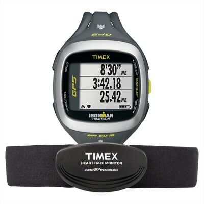 ce5c59daf703 Timex Herrenuhr Ironman Run Trainer 2.0 GPS Sportchrono T5K743