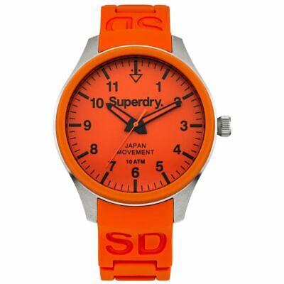 Mens Superdry Scuba Orange Watch SYG109OG